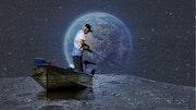 El pescador del espacio. Christian Pastora