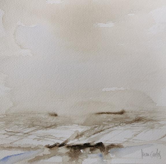 Nieve en la Mancha 3. Juan Carlos Peteneras