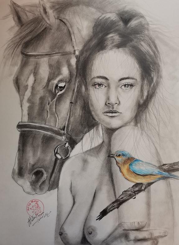 Freedom. Matei Florin Art By Matei