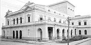 Teatro nacional de panamà en la antiguedad. Bélgica Herrera
