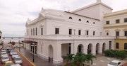 Restauraciòn del teatro nacional. Bélgica Herrera
