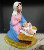Marie et le petit enfant. Alexandre Milesi