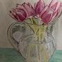 Les tulipes. Πr Dessins