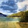 Le lac de Joux (suisse). Claudublart