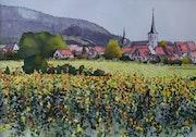 Début d'automne sur l'Alsace.
