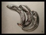 Bananes séchées.