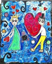St Valentin. Radmila Sally Stojkovic Burton