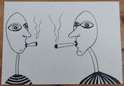Smoke time. Raquel Ruth Martos