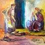 Le cartier. Dar El Amen Galerie d'art