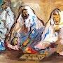 Jeux de cailloux. Dar El Amen Galerie d'art