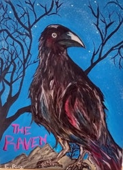 The raven.. Edgar Addair Ruiz Leon