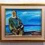 Le pêcheur. Dar El Amen Galerie d'art