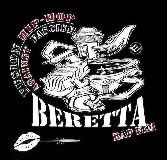 Beretta stiker4.  Beretta Rapfem