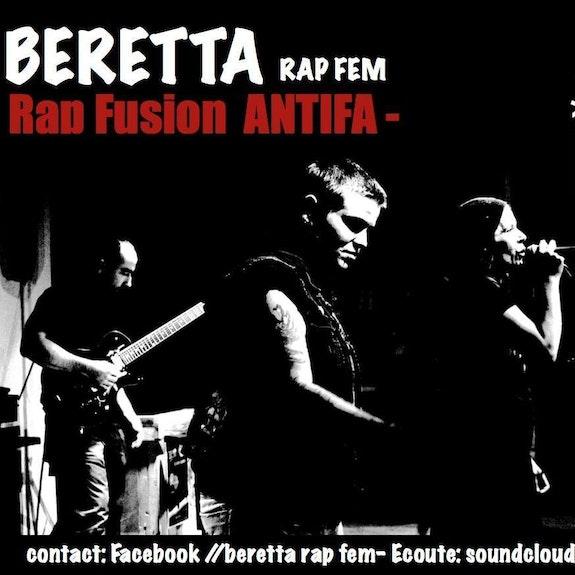 Beretta stiker6.  Beretta Rapfem