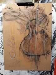 Cello. Volker Van Uffelt