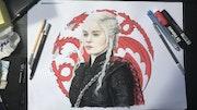 Daenerys Targaryen. Louise Guillevic