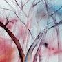 Forêt rose.