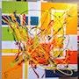Shine. Peintre Abstrait Contemporain