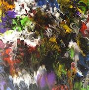 Pich'magic abstract art n°152.