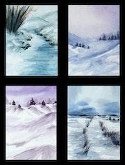 Les 4 hivers. Emilie Denis