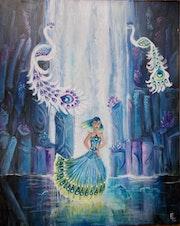 La cascade aux cristaux. Elisabeth Le Nouaille