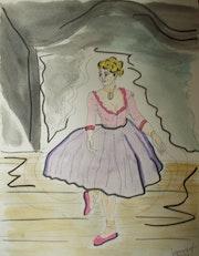Jeune ballerina. Jamart