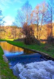 Paseo rio Rato, Lugo.