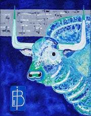 Blue bull. Bruno Imart