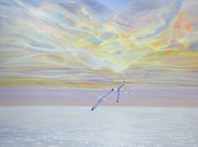 Sky Born is a seascape painting on canvas.