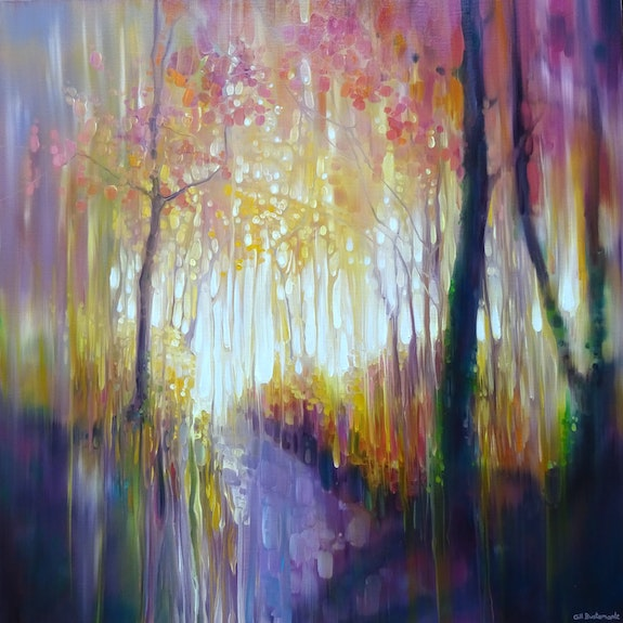 October Glows.  Gill Bustamante - Artist