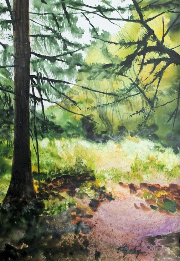 En forêt.. Adyne Gohy Adyne Gohy