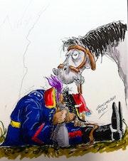 RCTan 1 «Coronel Brandsen» «Borracho». Arturo Garcia Cano