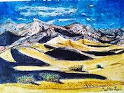 «Mojave doré». Matteo Lecci