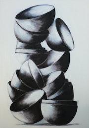 202101Fragile en noir et blanc. Béa Dumas