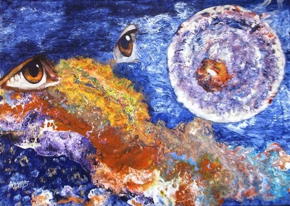 Regard fugitif dan la galaxie. Alessandro Milesi Alexandre Milesi