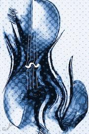 Le Violoncelle bleu. Gipéhel