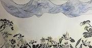 Murmures Fleurs #2. Aline Demarais - Aquarelles