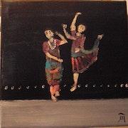 Danseuses d'Inde.