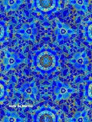 Oriental Blue. Anita De Martini