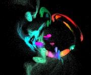 Danse des couleurs.