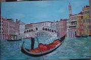 Le Grand Canal à Venise. Anadlastrebor