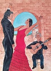 Flamenco. Anadlastrebor