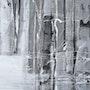 Peinture-Abstraction-Aquarelle «Ouvrir l'Ombre». Annick Richard-Keller