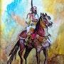 Horse rider. Dar El Amen Galerie d'art