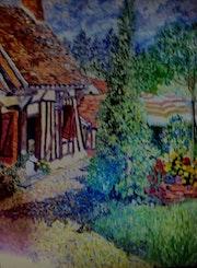 Maison près de lorris. Gérard Laraize