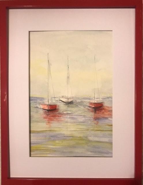 Les voiliers. C. Gilbert Christiane Gilbert