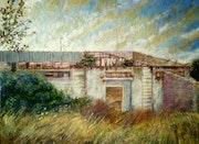 Vieja fábrica en el Cerro del Hierro, Sevilla. Francisco Manuel Espinosa