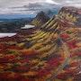 Highlands, óleo sobre lienzo. Demonio - Yolanda Molina Brañas