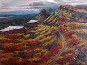 Highlands, óleo sobre lienzo.