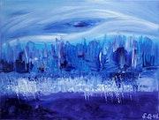 Le glacier. Art_By_Sophie_Queuniez